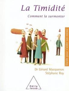 La timidité comment la surmonter, G. Macqueron et S. Roy, livre sur la timidité