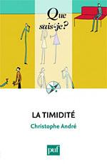 La timidité, Que sais-je ?, André Christophe - livre sur la timidité