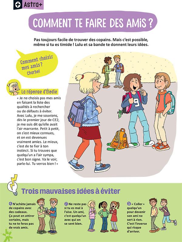 Comment se faire des amis à l'école (partie 1)