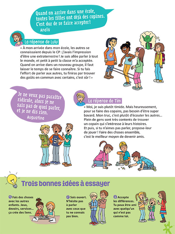 Comment se faire des amis à l'école (partie 2)