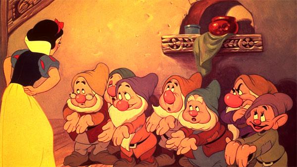 Blanche-Neige et les 7 nains timides